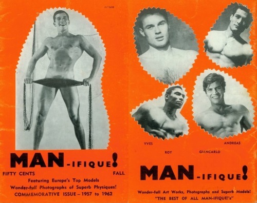 androphilia:  MAN-IFIQUE! Commemorative Issue, 1962