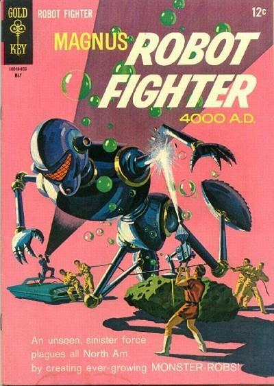Magnus Robot Fighter #14