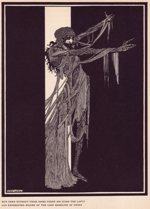 Illustration by Harry Clarke.