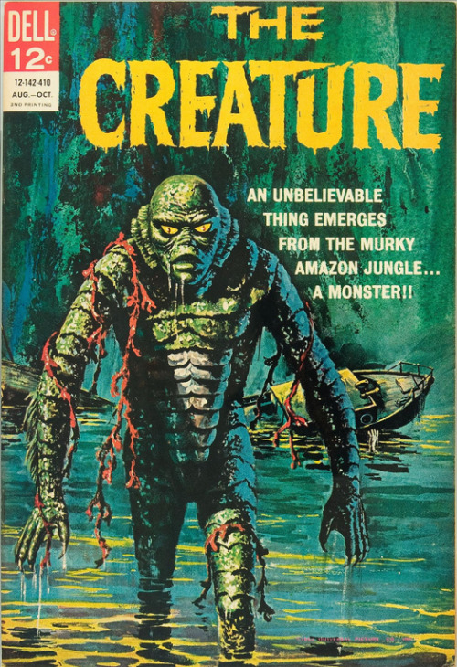 The Creature comic book via Fantasy Ink.