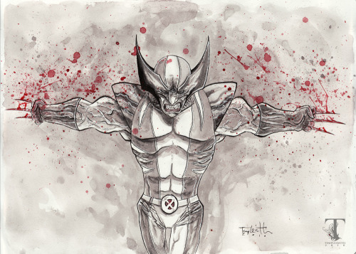 Wolverine by Ben Templesmith.