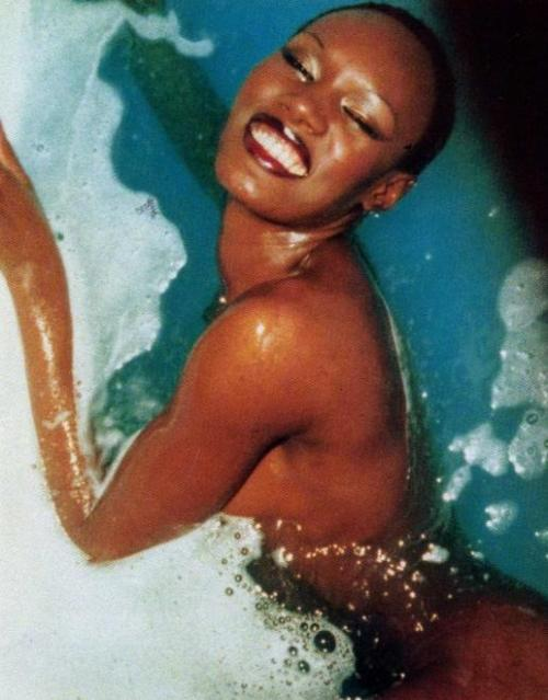 earwormwax:  My muse. The fabulous Grace Jones.