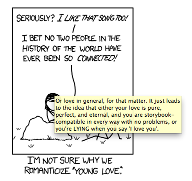 xkcd afternoonsnoozebutton:  Randall Munroe really needs to find someone to make him happy.