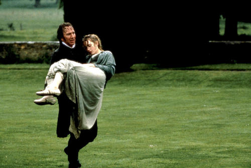 bohemea:  Sense and Sensibility It's the very definition of romance contained in one film still.  In a world populated by Willoughbys, every woman needs her own Colonel Brandon.