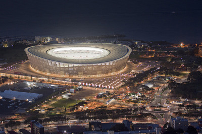 Green Point Stadium, Cape Town, South Africa© Johannes