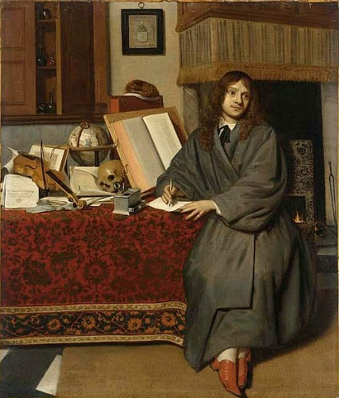 Cornelius de Man Portrait of the Pharmacist Ysbrand Ysbrandsz 17th century