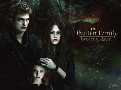 fuckyeahtwilight:  The Cullen Family - Breaking DawnSubmitted by 500daysofdoingfuckall