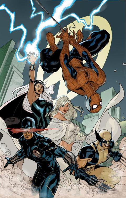 Spidey with the X-Men!