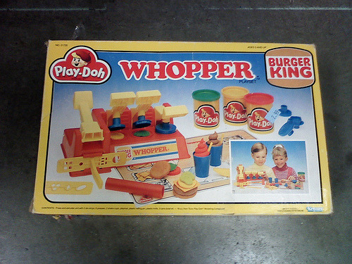 Burger King Play-Doh Whopper Maker Photo courtesy of Kerrytoonz