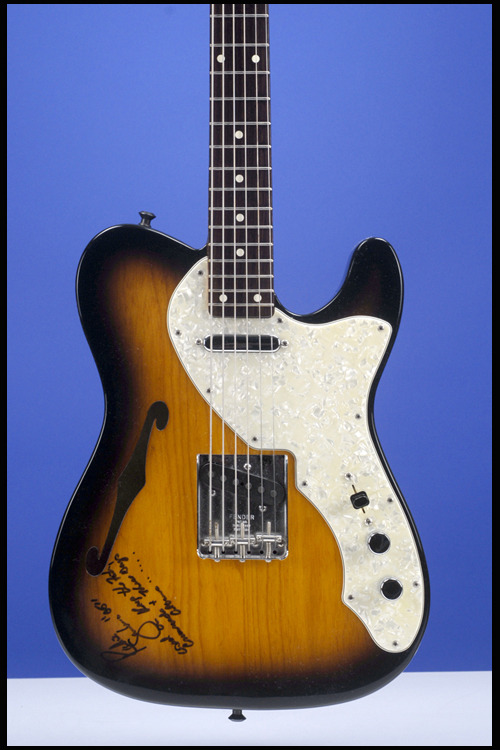 "1990 Fender Telecaster Thinline ""Bajo Sexto"" Baritone guitar. Probably unique Prototype of the Bajo Sexto (not thinline) that would be produced between 1992 and 1998."