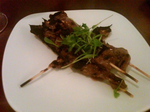bison satay. Level, Annapolis