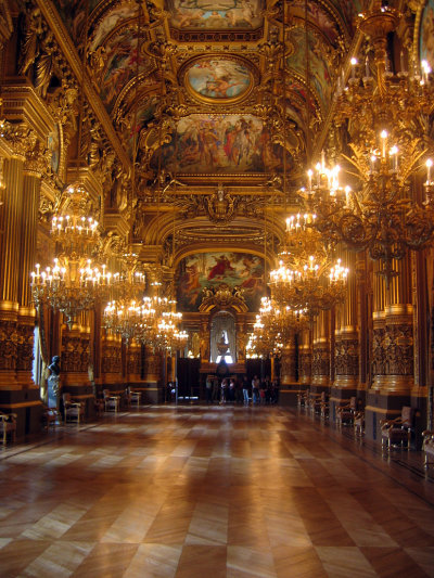 fallingchandelier:  Paris Opera House