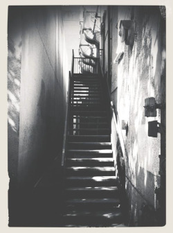 Photo: Steps between the building.  iphoneography