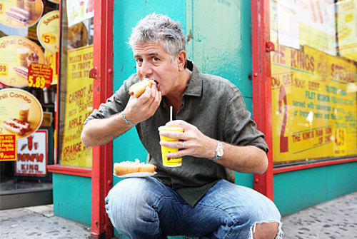 """I'm a total egg slut."" - Anthony Bourdain"