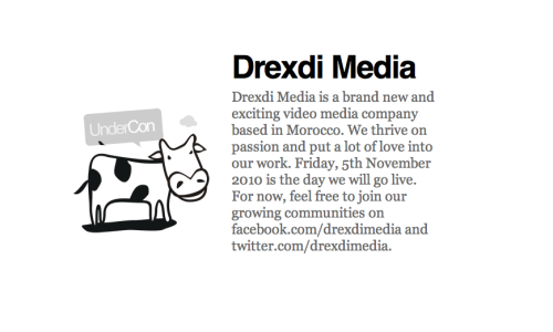 Drexdimedia.com will go live on Friday, 5th November 2010. We can't wait to show you guys what we have been working on.