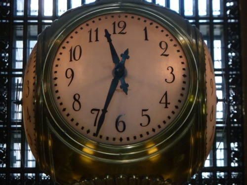 79) Grand Central Terminal Clock, NYC - a closer look. photo (c) Alan Strauber (all rights reserved) 10.21.10