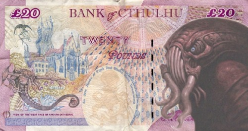- Bank of Cthulhu Noteartist uncitedvia Kontraband