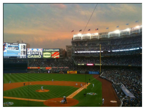 Bronx Sunset #1, Yankee Stadium, Gm 5, ALDS, NYC, 10.20.10  Da Yankees Win!