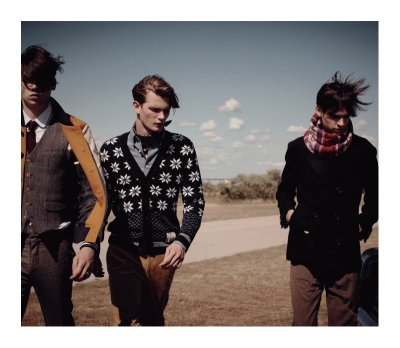 Cole Mohr, Roy Pratt and Ethan James for Customellow f/w 10