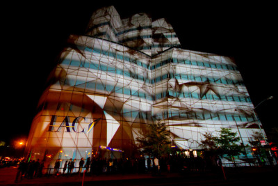 seeper: architectural projection mapping