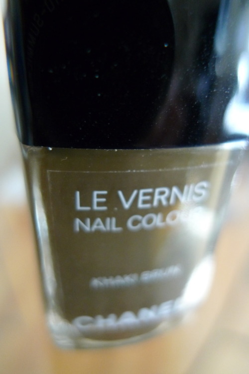 Still time to enter my contest for a lovely bottle of Chanel Khaki Brun. My mistake (ordered two) could be your gain! Check the link for details…..
