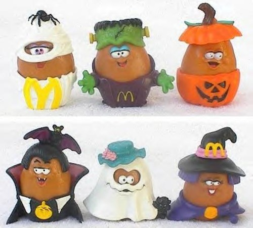 imremembering:  McDonald's Halloween McNugget Buddies