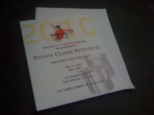 custom invitations for a graduation party