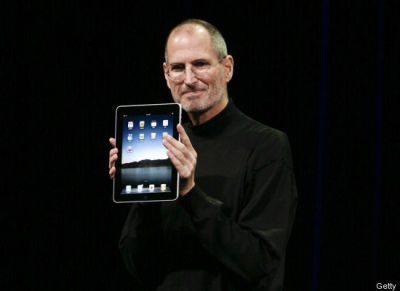 Huffington Post readers have chosen STEVE JOBS as the Ultimate Game Changer In Technology.
