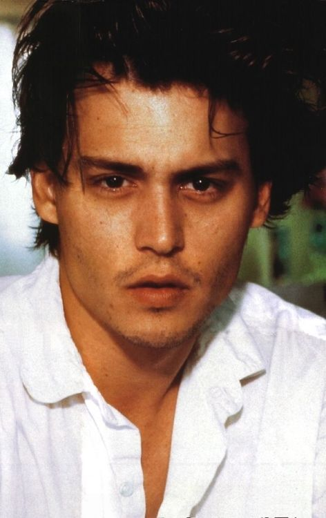 Johnny Depp - White. XXI.