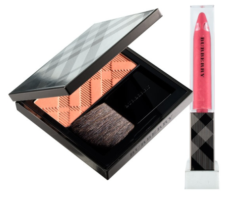 Burberry's makeup line is just great. The palette is somewhat muted so it goes with everything. The best part is the signature Butberry plaid incorporated throughout in clever ways, from being printed on a case to engraved in lipstick.