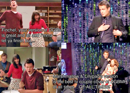 howimetyourmothersource:  Glee meets How I met your mother.   WIN.