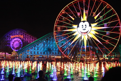World of Color @ CA Adventure.