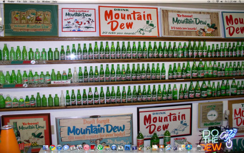 CURRENT DESKTOP #DEWCREW