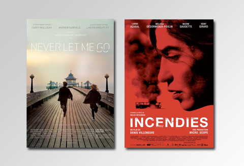 My current dilemma: Never Let Me Go or Incendies? Tough decision…