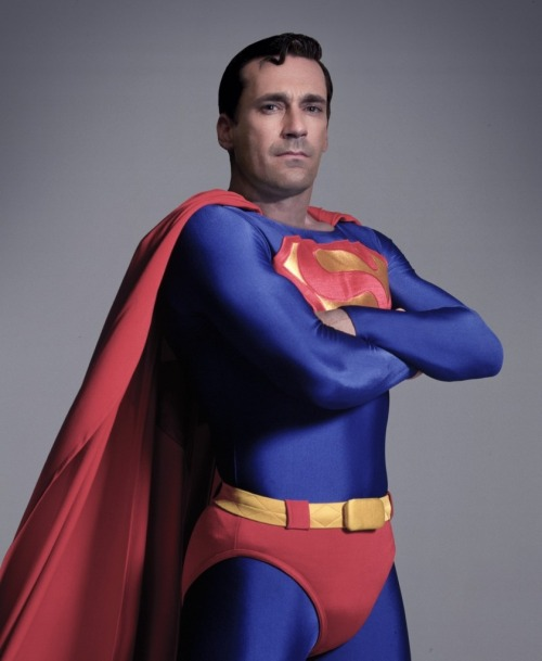 Jon Hamm as Superman. I can dig it.