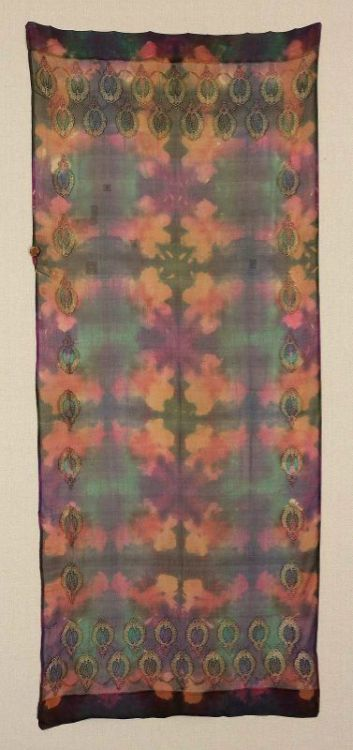 1920s shawl via The Museum of Fine Arts, Boston