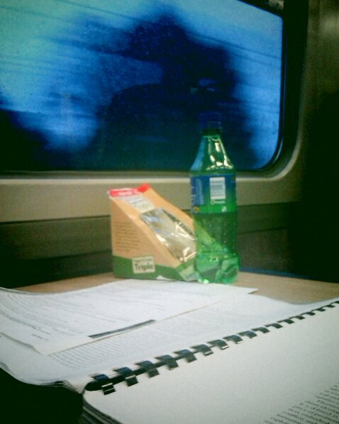 Here I am. On a train. Late as always, eating a possibly gone off egg and cress sandwich, all around me children are swearing at each other and throwing stuff at each other and generally reminding me why I never want to squeeze one of the little bastards out.  Also, because I am late, and this train is also running late, I get the joy of watching as the light slowly disappears and with it the hopes of an easy and less stressful photoshoot in Leeds. Fml fml fml.