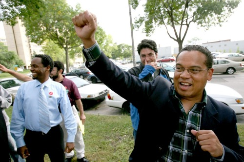 Congressman Keith Ellison is Muslim. Keith likes plaid button-downs.