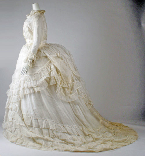 Cotton Dress | c. 1870
