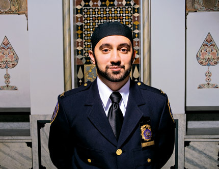 Khalid Latif. Muslim in NYPD blues.