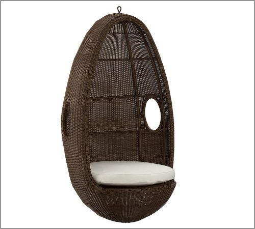 Hanging egg chair from Pottery Barn