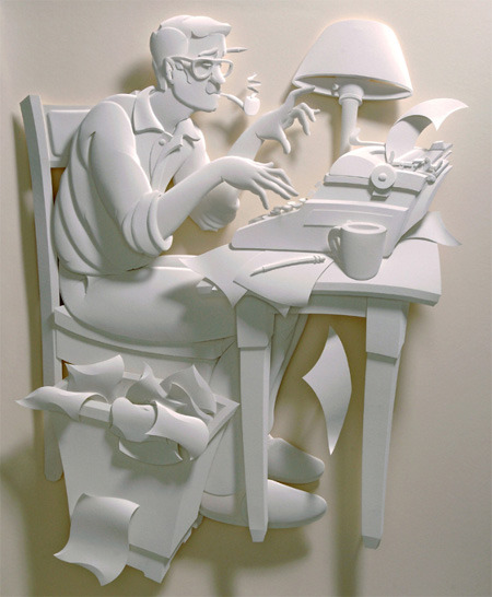 lesmy:  Incredible 3D Art Made of Paper  …wow!