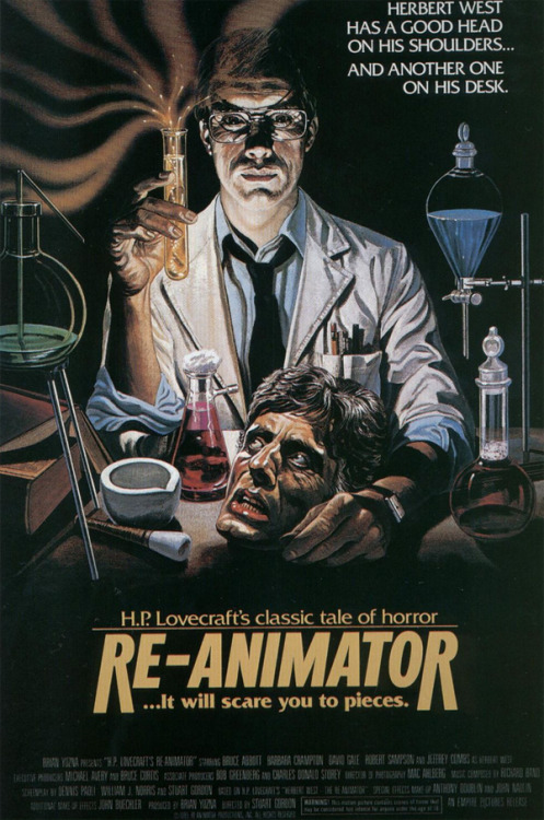 - Re-Animator Poster (1985)via templates
