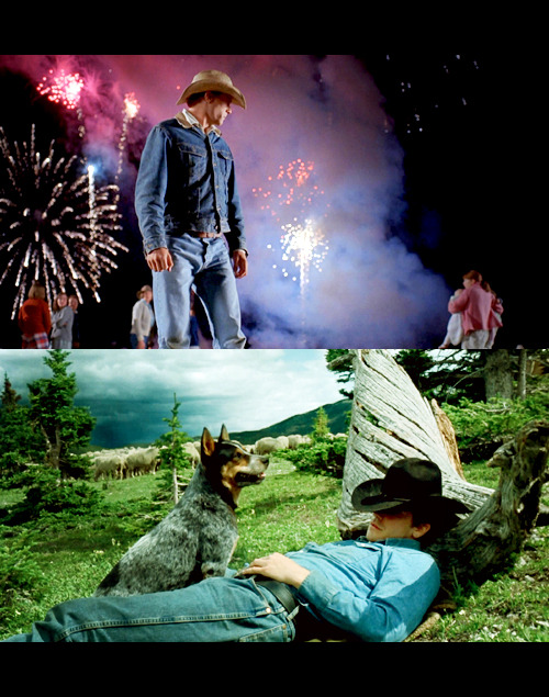 avid:  Jack, I swear.— Brokeback Mountain (2005)  I have never seen a graphic of Brokeback that is so colourful as this. I should think I would not like it, but it's actually quite beautiful.