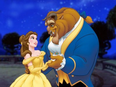 "DAY 1- FAVORITE MOVIE ""Beauty and the Beast"" (:"