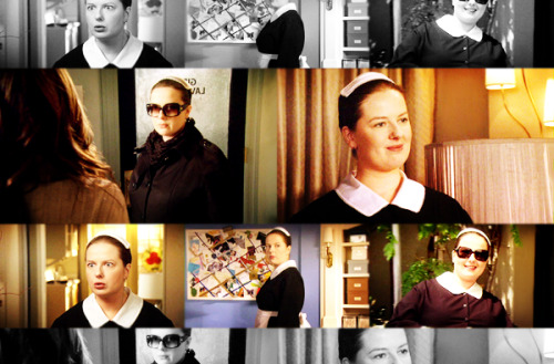 heartsthatkill:   Favorite Reoccurring Characters | 03. Dorota Kishlovsky (Gossip Girl).  I know some people have lost the love because of them using her a lot more in recent scenes/episodes, but I still love her to bits. I love her relationship with Blair and how she's so motherly towards her. They're adorable. She'd do anything for Miss Blair! I still can't believe Blair wasn't godmother to the kid, or that the bb's middle name wasn't at least Blair! Come on! And I love how she can pretty much do anything in the world, lol! She's like God, yo.