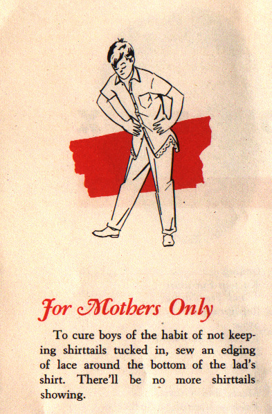 "questionableadvice:  ~ Hint Hunt booklet, c. 1940s via Kitsch-Slapped ""Hint Hunt was an old Armour Radio show broadcast on CBS and this booklet contains '367 prize winning household hints'"""