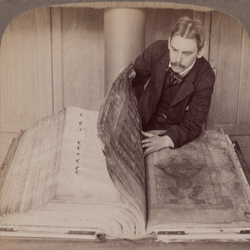 reblololo:  The Codex Gigas also known as The Devil's Bible, once considered the eighth wonder of the world.
