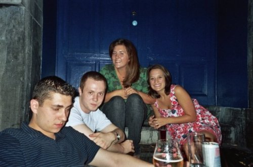 #26 A photo of your favorite weekend - Bruxelles circa 2007. I was 17 and thought I ruled the world. Lucky son of a bitch is what I was. I'd give anything to go back to that time, that body.