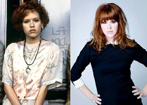 '80s Interview: Molly Ringwald The iconic actress talks John Hughes, fashion and lipstick party tricks…